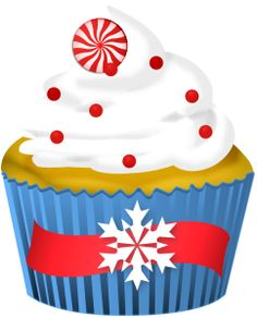 christmas cupcake clip art clip art christmas 2 clipart rh pinterest com cupcake pics clipart