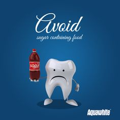 To prevent your teeth from yellowing and becoming dull limit the amount of sodas, coffee & alcohol Dental Health, Dental Care, Health Care, Dental Facts, Dental Humor, Dentist Art, Smile Care, Coffee With Alcohol, Dental Kids