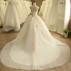Luxusné svadobné šaty. - 1