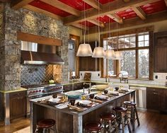 Rustic Kitchen Design, Pictures, Remodel, Decor and Ideas - page 10