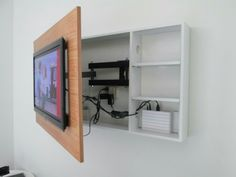 Frame & shelves For tv