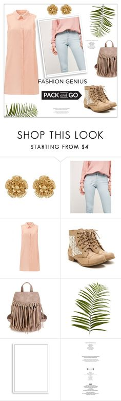 """""""Pack and Go:  Labor Day"""" by violinistkitty ❤ liked on Polyvore featuring Miriam Haskell, Bershka, Pier 1 Imports, Bomedo, Packandgo and laborday"""