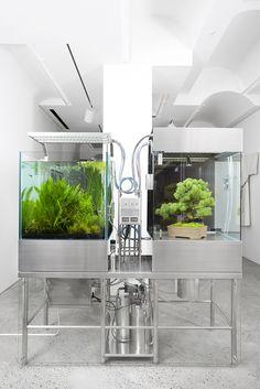 Azuma makoto Encapsulated environmental experiment system