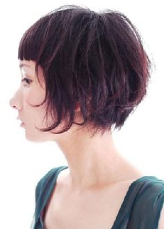 medium layered haircuts pictures bob cuts for thin hair best bob hairstyles 3690 | ef58cfc69b3690c5175d7264947f2b04 blunt fringe textured hairstyles