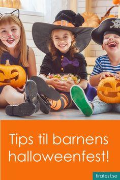 Tips, idéer och inspiration till barnens Halloweenfest! Halloween Party Kinder, Halloween Cakes, Halloween Town, Happy Halloween, Halloween Costumes, Diy For Kids, Cool Kids, Helloween Party, Frankenstein