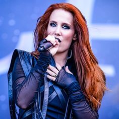 169 Best Simone Simons!! images in 2018   Simone simons, Bands, Redheads