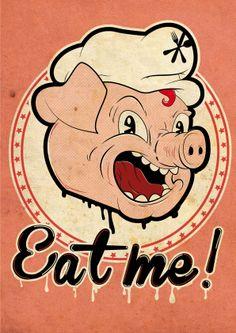 Eat me by Romain Augereau, via Behance