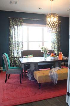 Layered and Luxe Dining Room   Kara Paslay Design