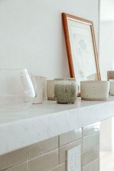 Zuhause: Thin Brick Kitchen Backsplash | Fireclay Tile | Fireclay Tile