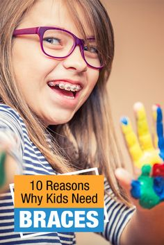 Some kids DO need braces, but not all kids… Learn the 10 reasons why kids need braces and when to schedule a consultation with an orthodontist Kids Braces, Bad Apple, Teeth Cleaning, Orthodontics, Childcare, How To Make Money, This Or That Questions, Dental Care, Children
