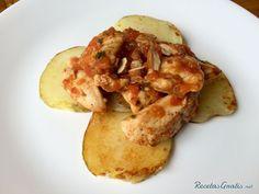 Fricandó de pollo http://www.recetasgratis.net/receta-de-fricando-de-pollo-57319.html