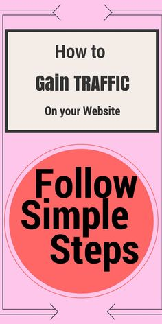 How to Gain Traffic on your Website