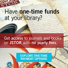 About.JSTOR.ORG/*** BOOKS & JOURNALS