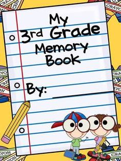 The end of the year is a bitter sweet moment. Allow students the opportunity to reflect upon the year with this End of the Year Memory Book. $3.50