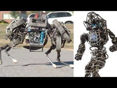 Google Buys Scary Military Robot Maker - YouTube