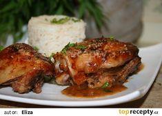 Tropické kuřátko recept - TopRecepty.cz Worcester, Tandoori Chicken, Crockpot, Pork, Ethnic Recipes, Kale Stir Fry, Pigs, Crock Pot, Crock