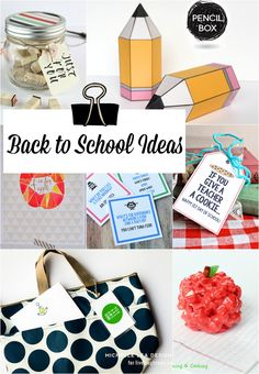 Fabulous and Fun Back to School Ideas