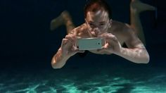 Sony's new Android smartphone, the Sony Xperia ZR for full HD underwater videos.