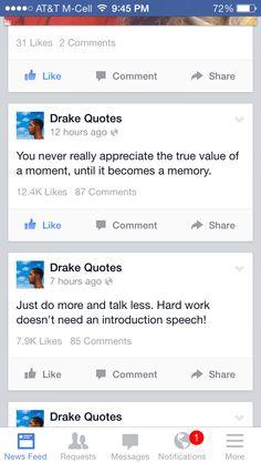Drake quotes.
