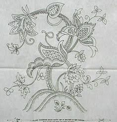 crewel embroidery patterns vintage - Google Search