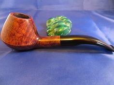 Aldo Velani Volcano 1 4 Bent Tapered Bit Birdseye Beauty Smoked Twice Great Pipe | eBay