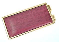 Davin & Kesler - Woodworking - Purple Heart Money Clip