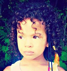 Beautiful mixed baby