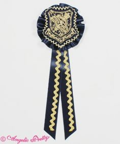 Angelic Pretty Astro Academyワッペンブローチ rosette in navy