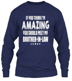 I'm Proud To Have Him Make Laws 20117 Navy T-Shirt Tay Dài Front