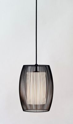 Cooper Pendant Light hand crafted wireform with inner white Small Pendant Lights, Black Pendant Light, Contemporary Pendant Lights, Bathroom Pendant Lighting, Chandelier Lighting, Pendant Lamp, Table Lighting, Chandeliers, Modern Exterior Lighting