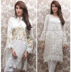 Saira Habib Pret The White Spring Summer Collection 2016 : Guardians clothes When all that sparkle and shimmer tires your look, an arrival to straightforward works of art is regular.