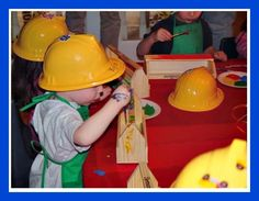 BTB Craft Great 3 Year Old Birthday Party Idea: A Bob the Builder Party!