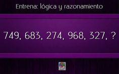 Razona y encuentra el número que continúa la serie #gimnasiamental