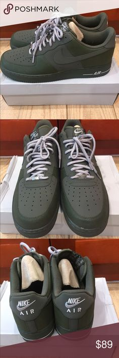 the latest cfcac c1a46 Nike Air Force 1 - BNIB Size 14 Brand New with Box! Nike Air Force 1 Low-  olive green  size 14 -  90. Make me a fair offer Nike Shoes Sneakers