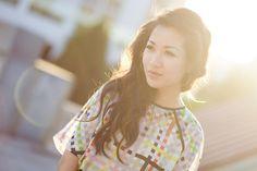 Wendy's Lookbook :: Pixel print