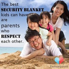 #Parents, be that security blanket your #kids need via TheAsianParent​