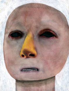 Cindy by Guim Tio Art Friend, Spanish Artists, Lowbrow Art, Paintings I Love, Sculpture, Fantastic Art, Face Art, Medium Art, Contemporary Artists