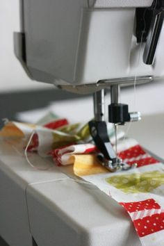 "This sure beats the ""old fashioned way"" of ruffling! Super tutorial for Ruffling and Gathering on your sewing machine with no threads to pull and no special foot needed. I have to try this."