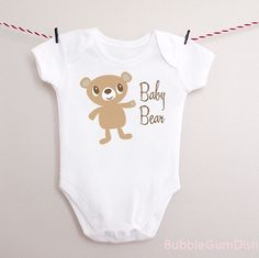 Bodysuits for your little Baby Bear.