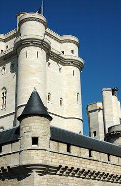 Vincennes castle - château de Vincennes. Val-de-Marne. Paris.