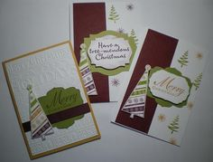 Waterlily Cards............by Robyn: Christmas