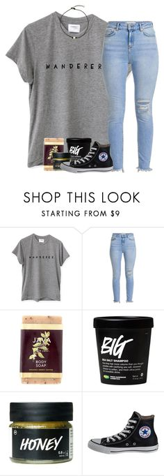 """""""W E   A R E   T I M E L E S S"""" by southernstruttin ❤ liked on Polyvore featuring Java and Converse"""