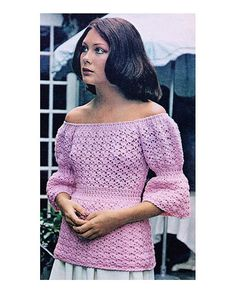 Crochet Summer Sweater Tunic PATTERN  Hippie Boho Beach Summer