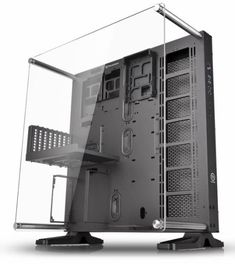 Buy Thermaltake PC Cases in Cyprus Thermaltake Core ATX Wall-Mount Chassis. Take presentation to the next level with the Core Open Frame chassis by Thermaltake. Gaming Computer Setup, Computer Build, Gaming Desktop, Computer Case, Computer Technology, Desktop Computers, Computer Projects, Computer Basics, Office Desktop
