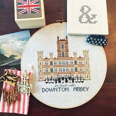 Lemon Verbena: Downton Abbey Cross Stitch