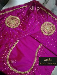 Peacock Blouse Designs, Cutwork Blouse Designs, Simple Blouse Designs, Kerala Saree Blouse Designs, Wedding Saree Blouse Designs, Mirror Work Blouse Design, Designer Blouse Patterns, Aari Work Blouse, Maggam Works