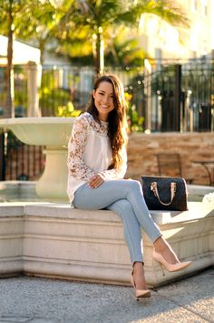 Hapa Time - a California fashion blog by Jessica: Floral Lace
