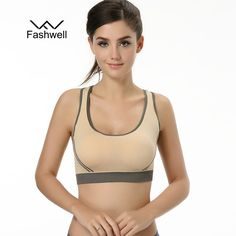 da0666c96f Fashion Women Wire Free Seamless Solid Bra Fitness Bras Tops Breathable  Underwear Padded Push up Bra Full Cup-Women s Bras-Enso Store-white-S-Enso  Store