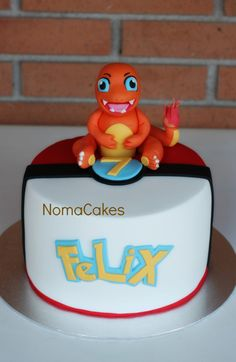 Tarta Pokemon Charmander