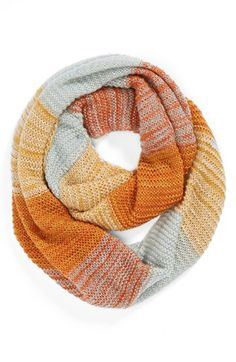 Love the colors on this infinity scarf